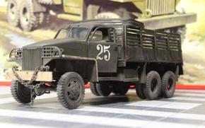 Picture macro, toy, modelka, Studebaker-US6