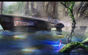 Picture people, ship, The Moment Stormtroopers River Deploy