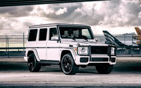 Picture Mercedes, AMG, G63, Airport