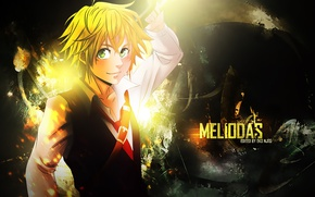 Picture anime, art, guy, The seven deadly sins, nanatsu no taizai, Melides