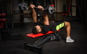 Wallpaper fitness, muscle, muscle, rod, training, athlete, fitness, gym, bodybuilder, training, weight, Gym, bodybuilder, barbell, gym