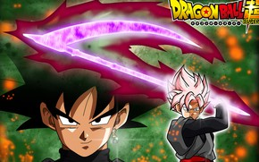 Picture DBS, game, anime, evil, asian, manga, Dragon Ball, Dragon Ball Super, japonese, Black Goku