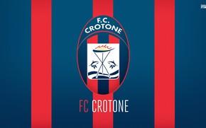 Picture wallpaper, sport, logo, football, Italia, Serie A, Crotone