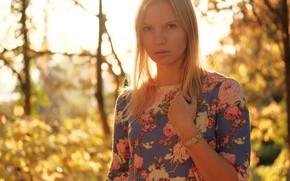 Picture summer, girl, Masha