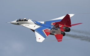 Picture The MiG-29, fighter, easy, frontline