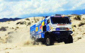 Picture Sport, Truck, Master, Russia, Kamaz, Rally, Dakar, KAMAZ-master, Dakar, Rally, KAMAZ, 507, The roads, Best, …