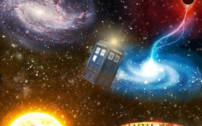 Picture space, planet, series, doctor who, the TARDIS