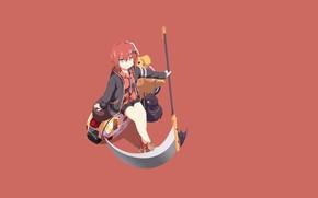 Picture demon, anime, asian, manga, japanese, oni, by lucifer012, Gabriel Dropout, Satanichia Kurumizawa