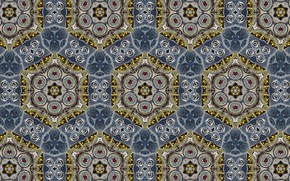 Picture color, background, figure, kaleidoscope