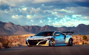 Picture Honda, Acura, NSX, Liberty Walk, Larry Chen