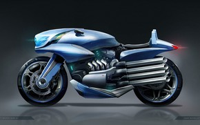 Picture design, motorcycle, concept motor bike 01, Juan Novelletto