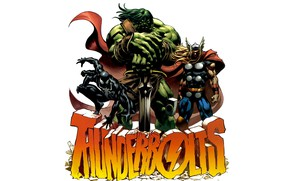 Picture comics, Marvel Comics, Ragnarok, The skaare, Thunderbolts, Dismantler