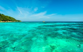 Picture sea, summer, tropics, stay, Nature