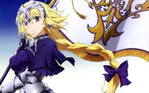 Picture anime, flag, asian, manga, japanese, bishojo, seifuku, Fate/Apocrypha, Fate Apocrypha, Type-moon