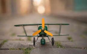 Picture background, toy, the plane