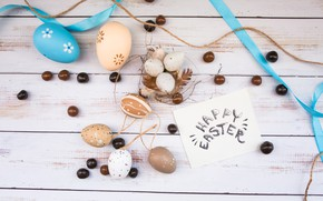 Picture eggs, Easter, wood, spring, Easter, eggs, decoration, Happy, tender