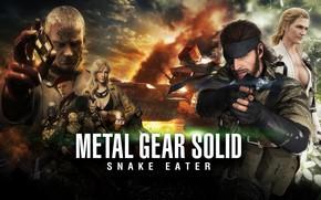 Picture Snake, eva, Thunderbolt, Metal Gear Solid, konami, John, The End, Kojima Productions, Naked Snake, The …