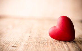 Picture love, romance, heart, red, love, heart, wood, romantic