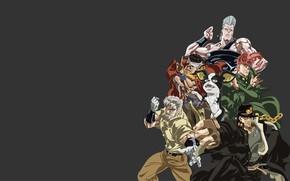 Picture game, anime, manga, japanese, JoJo no Kimyo na Boken, JoJo's Bizarre Adventure