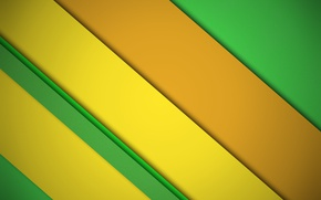 Picture orange, yellow, green, design, lines background, color, material