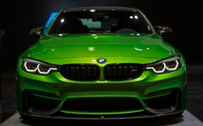 Picture BMW, Light, Green, Front, Face, Sight, LED, F81