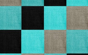 Picture background, squares, fabric, geometry, texture units