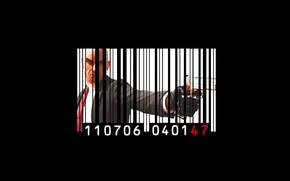 Picture Hitman, gun, pistol, game, weapon, assassin, bald