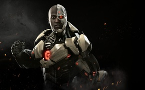 Picture game, Cyborg, NetherRealm Studios, Victor Stone, Injustice 2