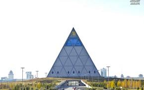 Picture Pyramid, Astana, Astana, Kazakhstan, The Pyramid Of Astana