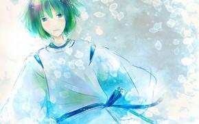 Wallpaper anime, art, Guy, Spirited away