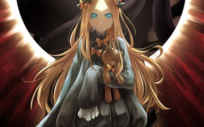 Picture anime, art, girl, Fate Grand Order, The destiny of a great campaign, Abigail Williams, Foreigner
