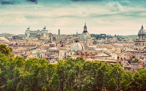 Wallpaper city, the city, Rome, Italy, Italy, panorama, Europe, view, Rome, travel