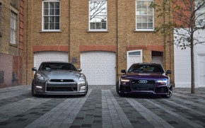 Picture Audi, GTR, Nissan, Beautiful, R35, RS7