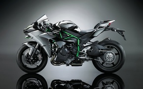 Picture Kawasaki, Ninja, shinobi, motorbike, Kawasaki Ninja, Kawasaki Ninja H2