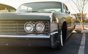 Picture Lincoln, retro, Continental, classic, 1965