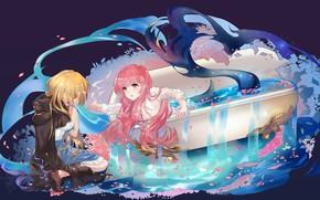 Picture girls, mermaid, art, drama, tsubasa19900920