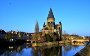 Picture France, Cathedral, Metz, Mets