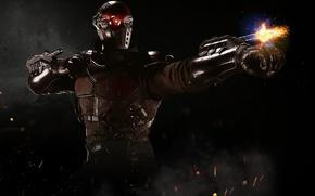 Picture game, killer, Deadshot, NetherRealm Studios, Floyd Lawton, Injustice 2