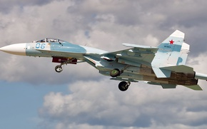 Picture Sukhoi, Defense, Su-27P, Single-seat fighter-interceptor