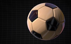 Wallpaper football, the ball, graphics
