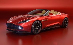 Wallpaper Aston Martin, coupe, sports car, Vanquish