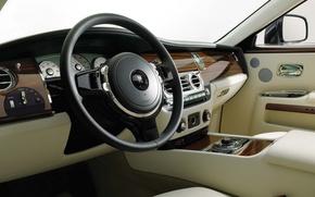 Picture Rolls-Royce, the wheel, salon, 200EX