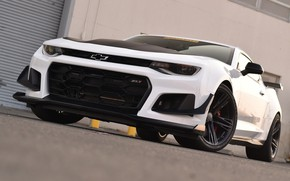 Picture Chevrolet, Camaro, White, ZL1
