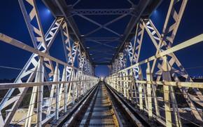 Picture bridge, design, rails