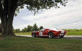 Picture Ford, Red, GT40