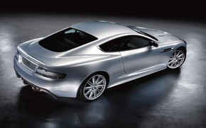 Wallpaper glare, reflection, Aston Martin, Shine, DBS, lighting, drives, view, Coupe