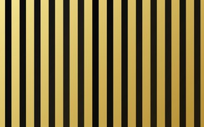 Wallpaper strip, gold, black, texture, golden, background