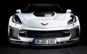 Picture Z06, Corvette, Chevrolet, front view, 2018, Geiger, Carbon 65 Edition