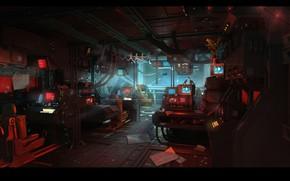 Picture compartment, Alien: Isolation, Ships and ship, anesidorainterior bridge