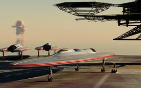 Picture camera, Strato-jets, monococque platform